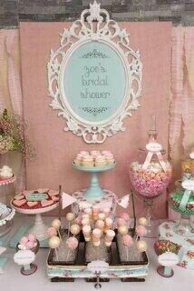 Bridal shower... Such a cool idea! Love this! Only my colors, not these. (Red, black, & white)