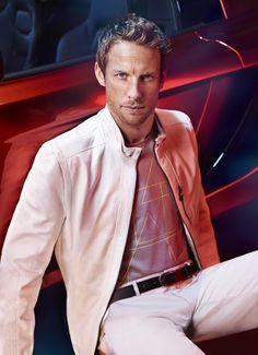 Jenson Button For Hugo Boss Summer 2013 #HugoBoss #MensFashion