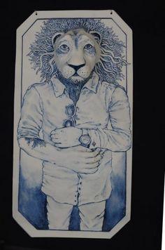 Peinture sur porcelaine – Aster Cassel : Artiste / Céramiste Aster, Illustrations, China Painting, Graphic Design, Artist, Animaux, Illustration, Illustrators