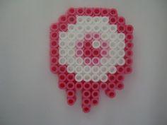Pink Eye by PerlerHime - Kandi Photos on Kandi Patterns Perler Bead Templates, Diy Perler Beads, Perler Bead Art, Pearler Beads, Fuse Beads, Pearler Bead Patterns, Kandi Patterns, Perler Patterns, Beading Patterns