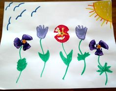 Kid's Crafts - How to Make Potato Stamps Craft Projects For Kids, Arts And Crafts Projects, Paint Pens, Paint Markers, Potato Stamp, How To Make Potatoes, Metal Cookie Cutters, Paint Drying, Painted Paper