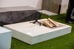 Messeauftritt #Blühendes Österreich in Wels-Concreto Concrete, Outdoor, Table, Design, Furniture, Home Decor, Wels, Outdoors, Decoration Home