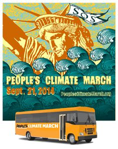 How will you get to the largest climate march in history? People from all over the US are coordinating on buses, trains and ride shares to NY. CHECK out your options: http://peoplesclimate.org/transportation/