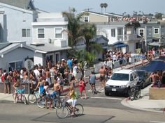 Newport Beach on the 4th of July