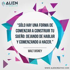Walt Disney #quote #frase #frasedeldía
