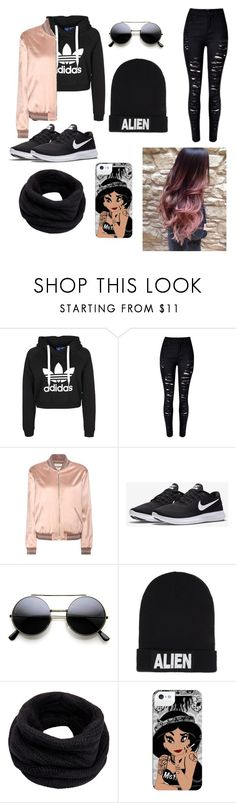 """Untitled #187"" by roxanna32 ❤ liked on Polyvore featuring Yves Saint Laurent, NIKE, Nicopanda and Helmut Lang"