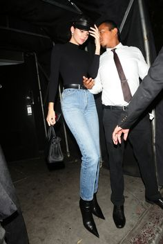 Kendall Jenner's Chic Street Style - August 24, 2017 from InStyle.com