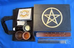 TRAVELLING ALTAR WITH CARRY BAG Wicca Pagan Witch Goth
