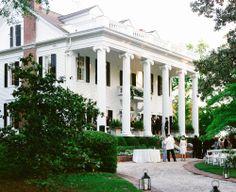 Augusta, GA wedding. Plantation home wedding.