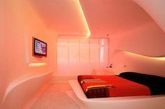 Zaha Hadid -  The Hotel Puerta America interior, Madrid