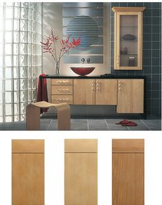 slab kitchen cabinet doors style