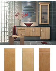 slab kitchen cabinet doors style