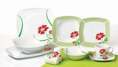 Porzellan Tafelservice Essservice Kombiservice 40tlg Angela TK-982 Plates, Tableware, Ebay, Dinner Sets, Products, Essen, Licence Plates, Dishes, Dinnerware