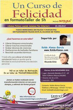 taller de Felicidad en 5 horas   Centro Bienestar y Salud.