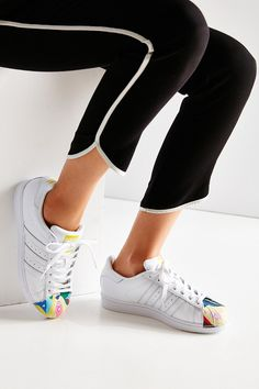 adidas Originals X Pharrell Superstar Supershell Todd James White Sneaker