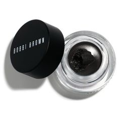 Bobbi Brown Sepia Ink Long Wear Gel Eyeliner ($26) ❤ liked on Polyvore featuring beauty products, makeup, eye makeup, eyeliner, beauty, black, cosmetics, fillers, sepia ink and gel eye liner
