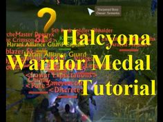 ArcheAge halcyona warrior medal grinding guide