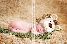 Newborn baby lion hat   crochet Newborn photo by shortycrochet, $20.00