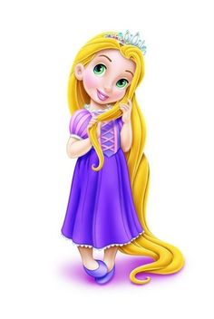 princess Rapunzel as toddler rapunzel e ancora picccola e un miracolo favoloso