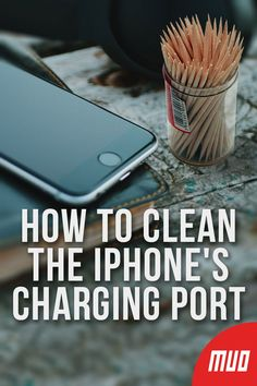 If your iPhone won't charge, your Lightning port is probably filthy. Here's how to clean your iPhone charging port easily. Cell Phone Hacks, Iphone Life Hacks, Smartphone Hacks, How To Clean Iphone, Clean Phone, Iphone Codes, Iphone Information, Iphone Secrets, Ipad Hacks