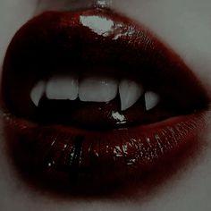 fangs or vampire teeths Vampire Diaries, Gothic Aesthetic, Aesthetic Girl, Arte Obscura, Character Aesthetic, Dark Fantasy, Fantasy Art, Aesthetic Pictures, Aesthetic Wallpapers