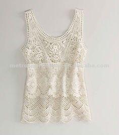 Lace Tops for Women | Women_s_crocheted_lace_tank_top.jpg