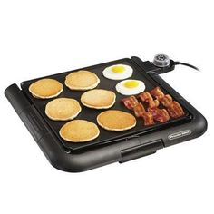 Proctor Silex 38516 Large Electric Griddle, Multicolor -- Be sure to check out this awesome product. Kitchen Cutlery, Kitchen Dining, Griddle Grill, Grilled Sandwich, Cool Things To Buy, Grilling, Surface, Kitchen Appliances, This Or That Questions