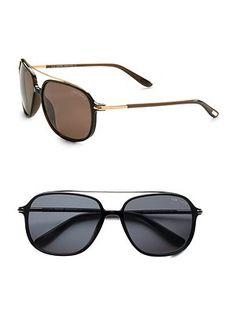 Tom Ford Eyewear - Navigator Sunglasses - Saks.com
