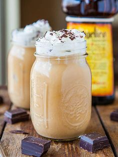 Skinny Blended Caramel Iced Coffee