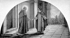 """Bl. Raymond of Capua Called """"the second founder of the Dominicans"""", Raymond della Vigna was born in Capua of a prominent family in the kingdom of Naples. He entered the Dominican Order when attending the university in Bologna and went on to fill several posts, including prior in Rome and lector in Florence and Siena. …"""