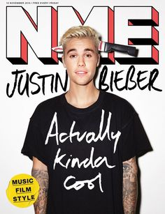 47ff37670855c Justin Bieber 2015 NME Cover 800x1042 Justin Bieber Covers NME