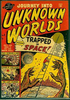 Sci Fi Comics, Old Comics, Horror Comics, Old Comic Books, Comic Book Covers, Brown Art, White Pages, Old Magazines, Classic Comics