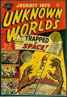 Old Comic Books, Vintage Comic Books, Vintage Comics, Comic Book Covers, Retro Vintage, Sci Fi Comics, Old Comics, Horror Comics, Brown Art