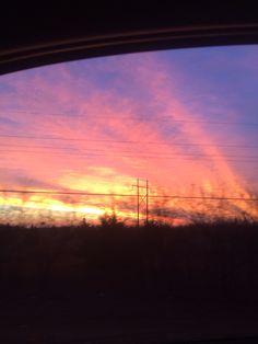 Beautiful oklahoma sunrise