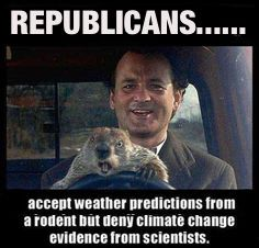 If a major polluter oil barons gives $800 million to the republican party is it a surprise that the republicans are now in denial about pollution and climate change?