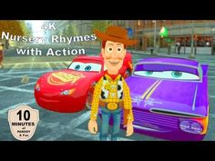 Nursery Rhymes with Woody and Lightning McQueen