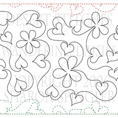 In Stitches ...Quilt Studio: Pantograph Patterns