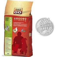 • Mac'sGO Chicken&Potato 12kg Grainfree Adult Hundefor Chicken Potatoes, Grain Free, Mac, Food, Essen, Meals, Yemek, Eten, Poppy