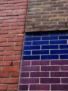 Glazed Bricks provide unique variety of strong colours with crisp and clear lines, enabling interesting bold contemporary architecture. Brick Masonry, Brick Facade, Brick Wall, Glazed Brick, Glazed Tiles, Townhouse Exterior, Cottage Extension, Brick Detail, Wall Exterior