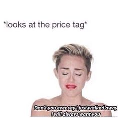 Me...every time I'm in the Louboutin store