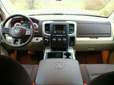 """2013 Dodge Ram 1500 Outdoorsman –""""Super Brown"""" interior"""