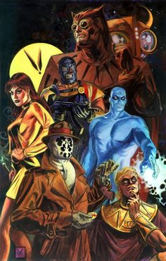 Watchmen - Dan Brereton