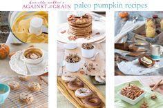 Gluten-free, dairy-free and paleo pumpkin recipes