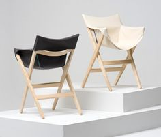 jasper morrison: fionda for mattiazzi. Folding chair for living room. I don't think this one actually folds, but we could maybe make a version that does