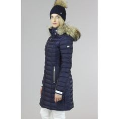 Bogner Lilia D Winter Coat in Navy