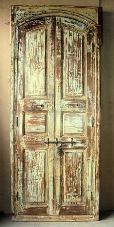 obsessed with old mexican doors