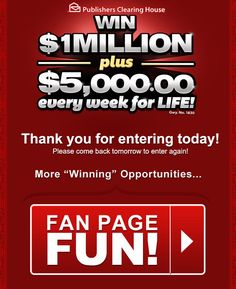 Enter to Win PCH Sweepstakes - Bing images Instant Win Sweepstakes, Online Sweepstakes, Money Sweepstakes, Win Online, Win A House, Lotto Winning Numbers, 10 Million Dollars, Win For Life, Winner Announcement