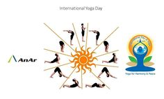 """""""Yoga is an invaluable gift of India's ancient tradition"""" #AnAr Solutions"""