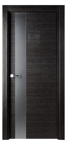 Flora 03 Interior Door Black Apricot