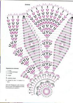 Kira scheme crochet: Scheme crochet no. Filet Crochet, Mandala Au Crochet, Débardeurs Au Crochet, Crochet Doily Diagram, Crochet Dollies, Crochet Circles, Crochet Doily Patterns, Crochet Round, Crochet Chart